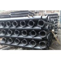 China High Strength Round Ductile Iron Sewer Pipe , DI Water Pipe BSEN545 / EN598 on sale