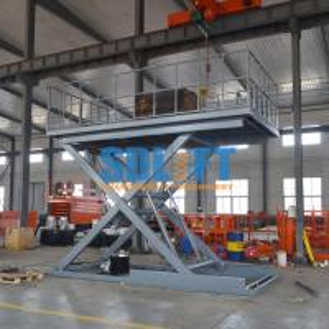 3T 3M Heavy Duty Underground Scissor Car Lift Parking System