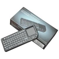 Quality Rii Mini Wireless Bluetooth Keyboard (Portuguese Layout) Mouse Touchpad for iPad 2 iPhone 4 for sale