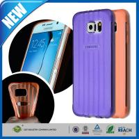 Crystal TPU Galaxy Cell Phone Cases , Gel Bumper Clear Back Cover Manufactures