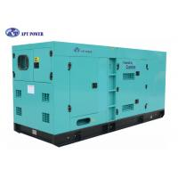 Heavy Duty 180 kVA Cummins Quiet Diesel Generator For Continuous Power Generation Manufactures