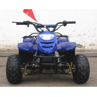 Chain Drive Youth Electric Atv 10cc Air Cooled Single Cylinder With Two Wheel Manufactures