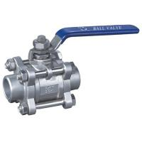 China SS 3PC BUTT-WELDING BALL VALVE, BW on sale