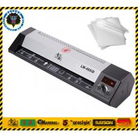 Metal A4 Photo Document Lamination Machine Double Side Energy Saving Manufactures