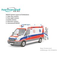 China 4ch HDD Mobile DVR for Ambulance GPS+3G+WIFI Optional on sale