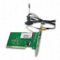 HSDPA 3G PCI Interface Wireless Modem, Supports Windows 7, Linux Driver, CE, AT Command Manufactures