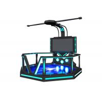 Commercial 9D Virtual Reality Game Simulator With 360 ° Rotating Platform Manufactures