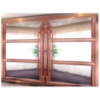 Partition Heavy Duty Sliding Doors, Modern Metal Room Dividers With Aluminum Frame Manufactures