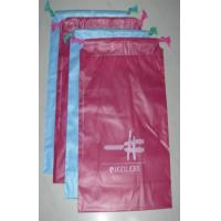Red HDPE Plastic Garment Bags degradable Plastic packing Bag 0.12mm thickness Manufactures