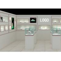Modern Fashion Style Wall Mounted Display Case For Jewelry Shop Display Manufactures