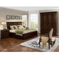 Quality Strong good quality Wooden Beds set with open Door wardrobe custom in Villa and for sale
