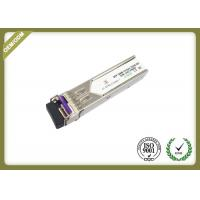 China 20km Single Mode SFP Fiber Module Transceiver With LC Connector OEM Service on sale