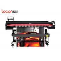 Black High Speed Large Format Printing Machine For Flex Banner Easy Operation Manufactures