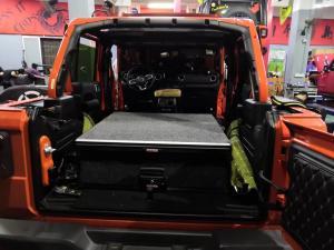 AUSTRALIAN STANDARD 4WD REAR STORAGE ROLLER DRAWER FOR JEEP WRANGLER JK / JL Manufactures