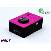 Mini 30M H9 LT 4k Sports Action Camera With Seven Colors Full Accessories Manufactures