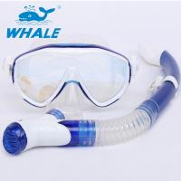 Silicone Mouthpieces Dry Snorkel Set For Wave Professional Free Breath Diving Manufactures