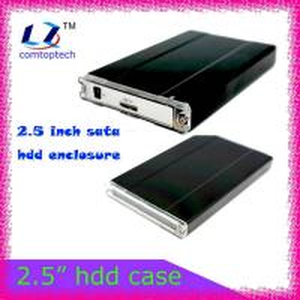 China 2.5 external sata hard drive enclosure usb 2.0 hdd case on sale