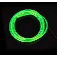 EL Wire / Electroluminecent Wires - Green for Indoor and Outdoor Advertisement Manufactures