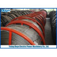 30mm 540kN T29 Anti twisting Braided Galvanized Steel Wire Rope Line Stringing Engineering Manufactures