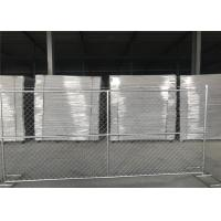 "8'x14' chain link fence panels 1⅜""(35mm) and 16gague wall thickness cross brace hot dipped galvanized be 2.0 oz/ft2 Manufactures"