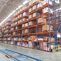 Warehouse Heavy Duty Steel Racking Selective Pallet Rack Storage Systems Manufactures