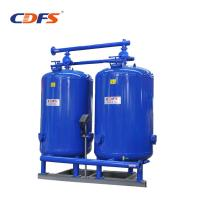 Stainless Steel / Activated Carbon Water Filter , Blue Solid Block Carbon Filters Manufactures