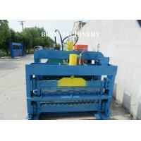 Color Trapezoidal IBR Steel Roof Roll Forming Machine Hydraulic Cutting Device Manufactures