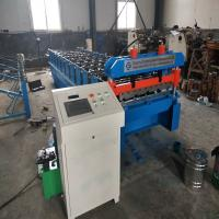 China 0.8~1.2mm Thickness Trapezoidal IBR Metal Sheet Roof Roll Forming Machine With CE on sale