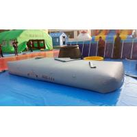 PVC Collapsible Flexible Water Tank / Water Storage Bladder Many Shapes Manufactures