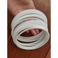 White Back Up Ring , T3G T3P Teflon Hydraulic Style PTFE Backup Ring Manufactures