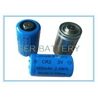 Flashlight / Camera Lithium MNO2 Battery , Lithium Primary Battery CR15270/CR2 3.0V Manufactures