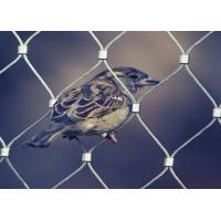 Plain Weave Stainless Steel Aviary Mesh , Stainless Steel Bird Cage Screen Mesh Manufactures