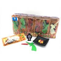 China 3.4g Shooting Battlefield Tasty Novelty Candy Toys Compressed With Gun Multi Fruit Flavor on sale