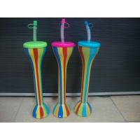 Hot Sale Plastic Straws Cup Bottle yard cup Manufactures