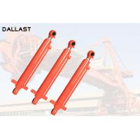 Double Rod End Hydraulic Cylinder , Double Ended Hydraulic Ram 16-32 Mpa Manufactures