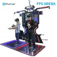Anti - Winding Steel 9D Virtual Reality Simulator For Amusement Park Manufactures