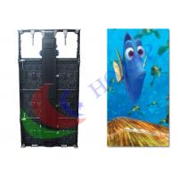 Pitch 5.95mm Indoor Rental LED Display For Stage Backdrop / led video wall hire Manufactures