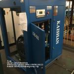 6m3 / Min 8 Bar 116 Psi Screw Air Compressor Belt Driven American Kerry Filter Manufactures