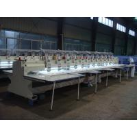 Sweat Suits / Robes Embroidery Sewing Machine Computerized With 10 Inch Monitor Manufactures