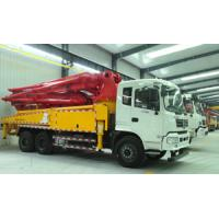 38m Reaching Height Cement Pump Truck / Small Cement Pump CXZ51Q Chassis Model Manufactures