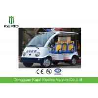 Unique 4 Seats Electric Sightseeing Car / Electric Shuttle Bus Battery Powered Manufactures