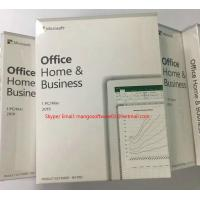 China MAC / Windows Office 2019 Microsoft Home And Business Activation Online Product Key on sale