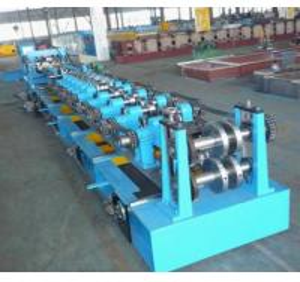 Interchangeable C & Z Purlin Forming Machine, High Precision C Purlin Roll Forming Machine