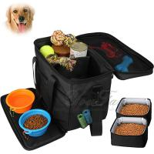 China Pet Travel Food Bag for Dog Weekend Tote Dog Travel Bag on sale