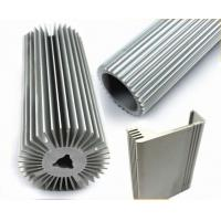 Quality LED Strip Aluminium Profile , Circular Heatsink Extruded Aluminium Profile for sale