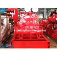 UL Listed 500 Gpm Fire Pump Set , Single Stage Double Suction Centrifugal Pump Manufactures