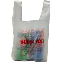 "Quality T-shirt shopping bag 6"" x 3"" x 12"" for sale"