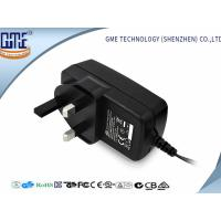 CE GS Class 6 Black UK 9V 2A Universal AC DC Adapters for Speaker , 1 year Warranty Manufactures