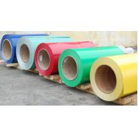 Pre Painted Galvanized Steel Color Coated Coils High Heat Resistance Manufactures