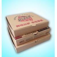China kraft paper Pizza box with different material , accept customized boxes on sale